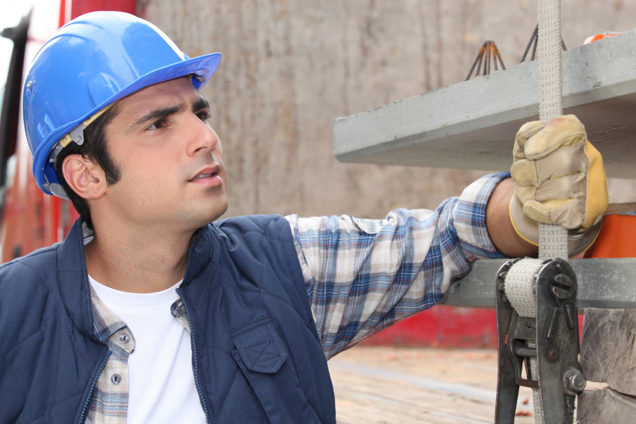 This is a picture of a concrete contractor.